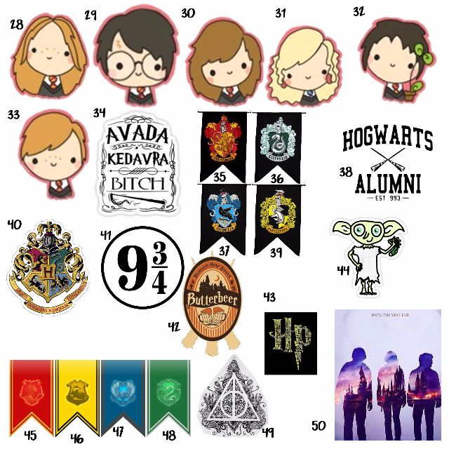 Harry potter tumblr sticker design craft on carousell