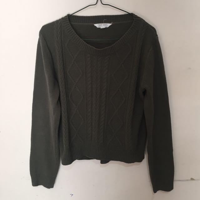 Khaki Knitwear