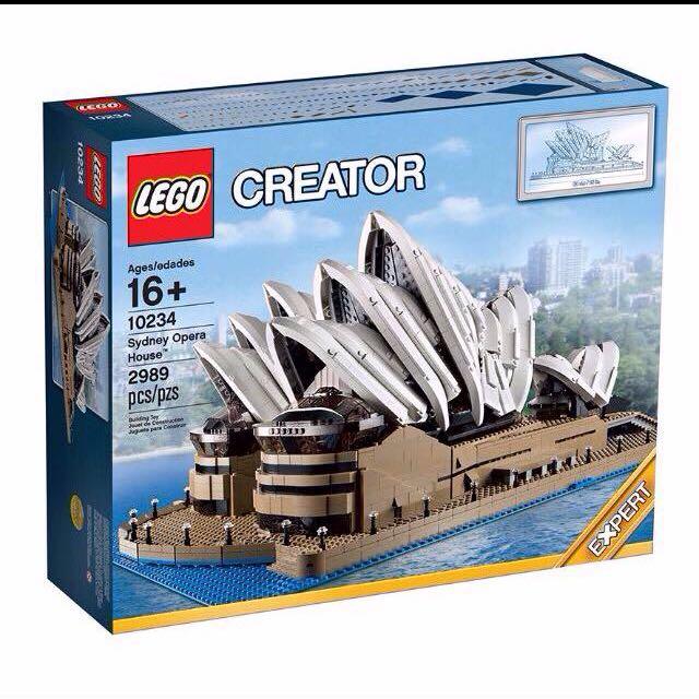 Lego Opera Sydney 10234