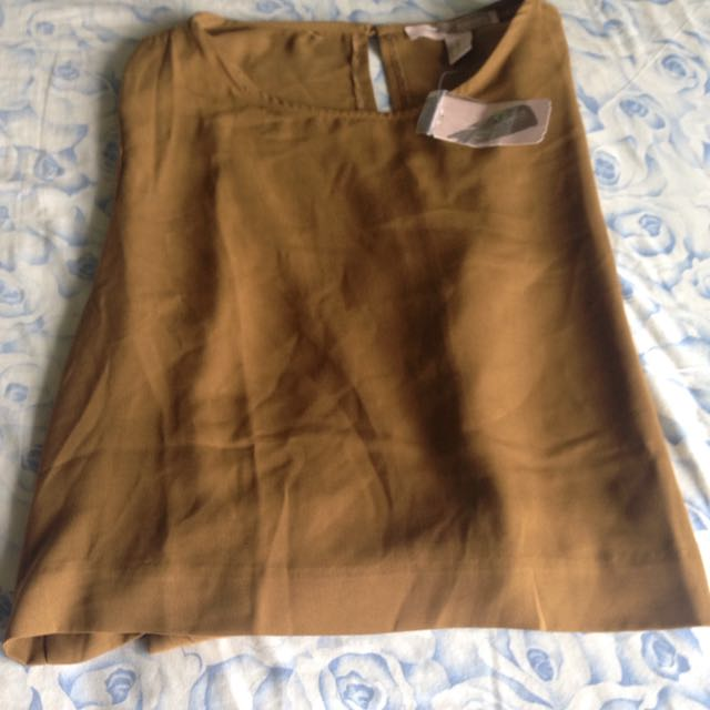 Long sleeve Sheer Olive Shirt