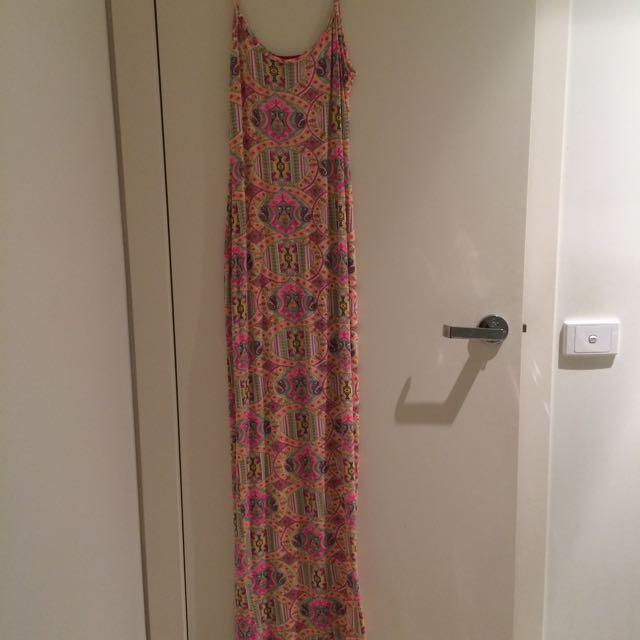 Maxi Colour Dress Size 8