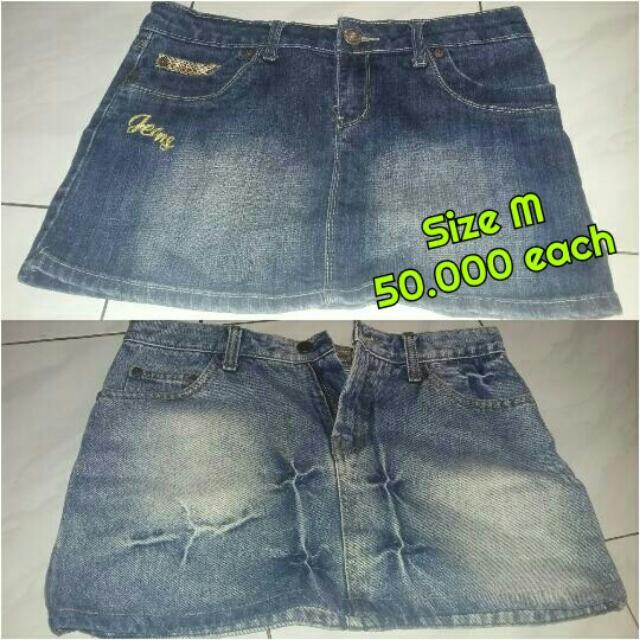 preloved skirt/rok mini