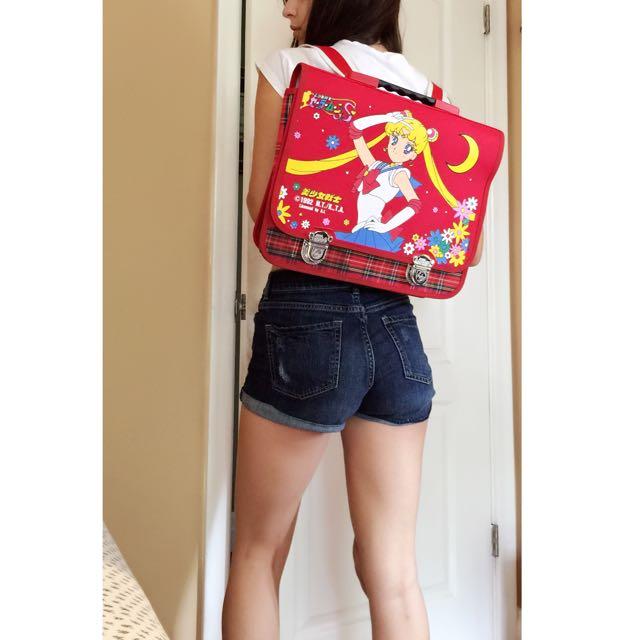 Rare Vintage 1992 Sailor Moon School Bag