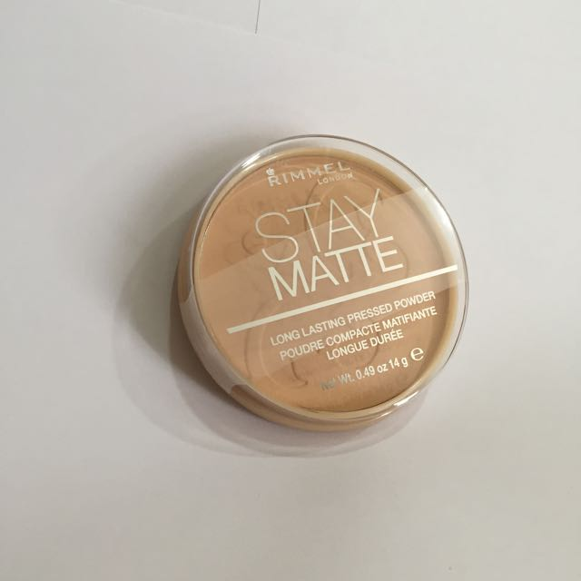 Rimmel Stay Matte Nude Beige