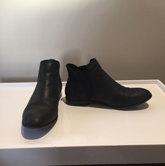RMK Black Ankle Boots