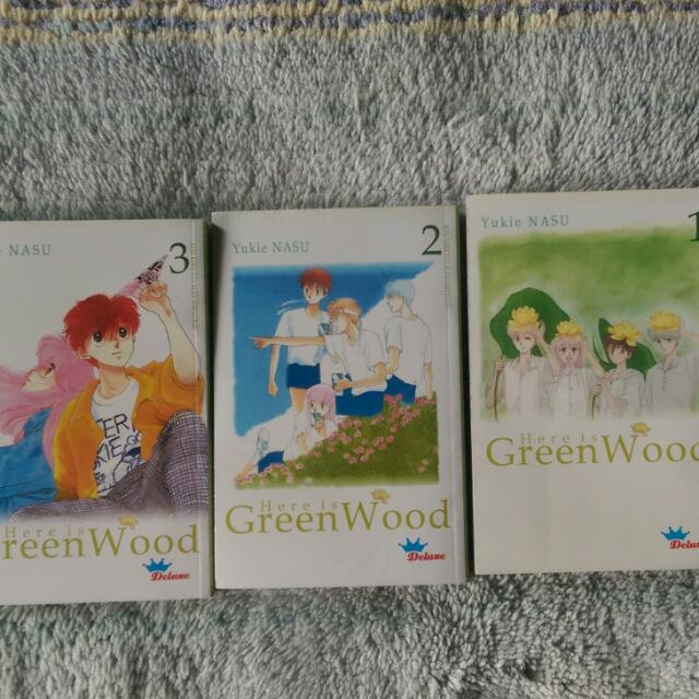 Serial Cantik - Greenwood 1-3