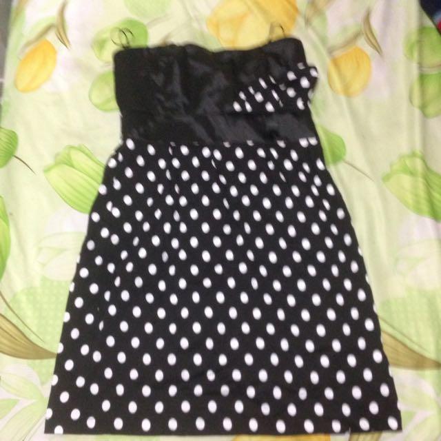 Size 14 Strapless Dress