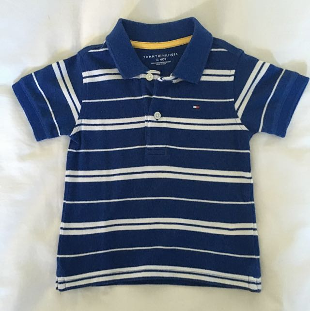 c54bb123f Tommy Hilfiger Toddler Boys Polo Tee Size 12m