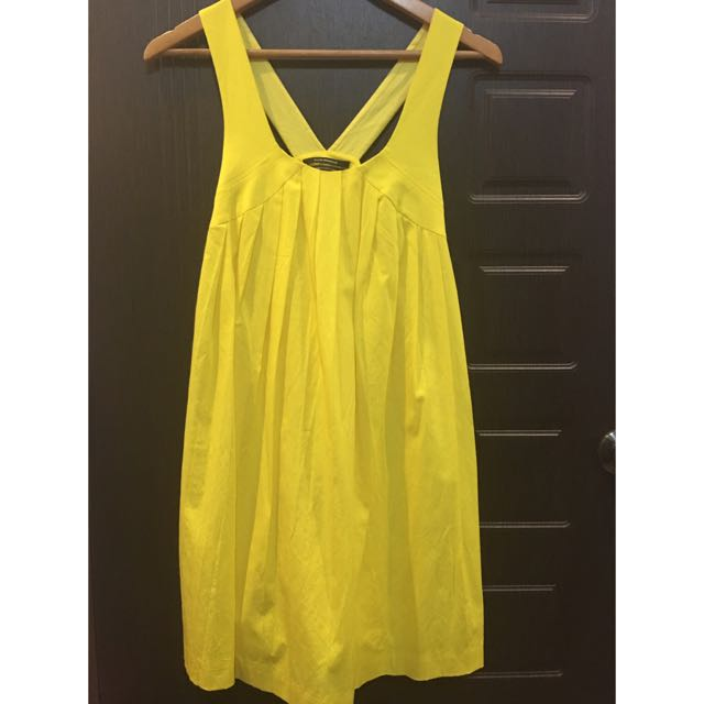 [REPRICED]Yellow Dress