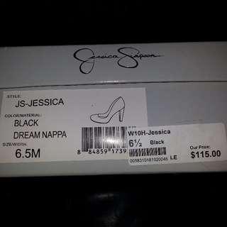Jessica Simpson - Dream Nappa black size 6.5M