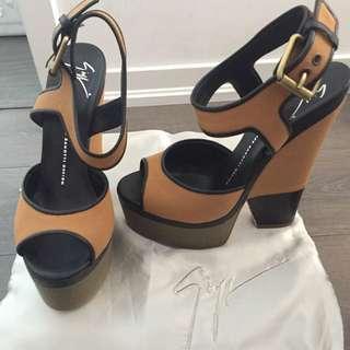 Stunning Colorblock Giuseppe Zanotti Heels For Sale