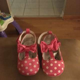 Pink And White Official Disney Shoes 12-1&