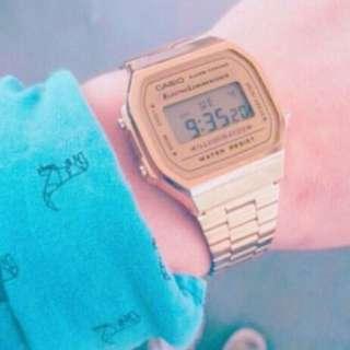 CASIO卡西歐復古風手錶