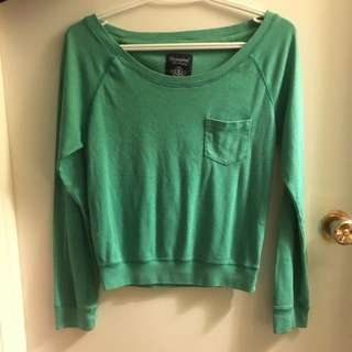 Bluenotes Long Sleeve Crop Top