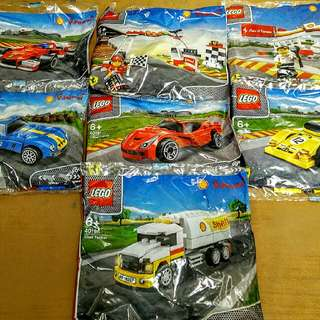 Shell Ferrari LEGO Set 2014