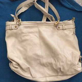 Cream Coloured Bag