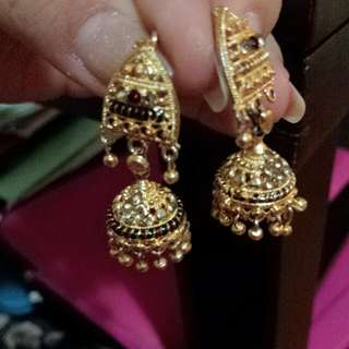 Earings Gold Plate