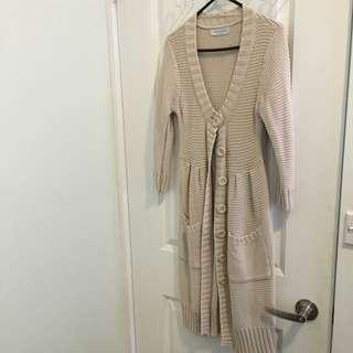Portmans Long Knit Cardigan szXS