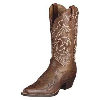 Lamles Original Cowboy Boots Size 8M