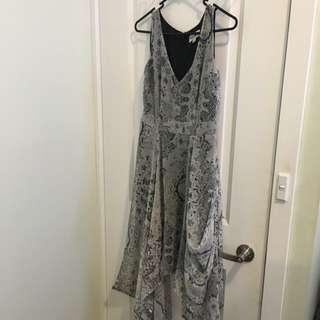 Just Jeans Snakeskin Print Dress sz8