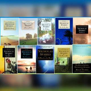 A Collection: Nicholas Sparks Best Selling Novels