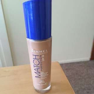 Rimmel Foundation :Match Perfection