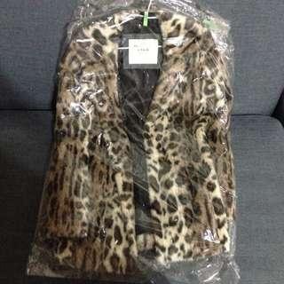 Abercrombie&Fitch Leanne Vegan Fur Coat 官網已停賣