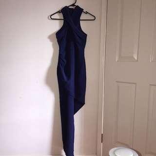 Morning Mist Navy Dress Size 8