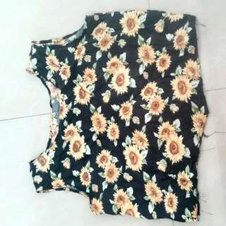 Sunflower Sleeveless Top