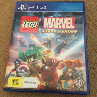 Lego Marve Super Heroes For PS4