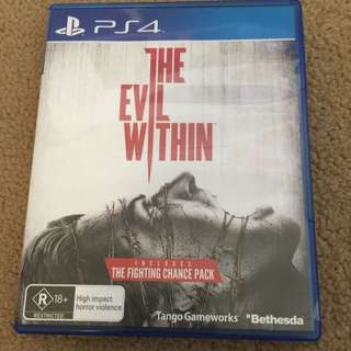 The Evil Within For PS4