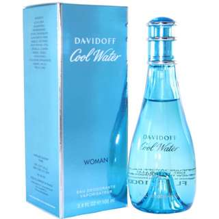 Cool Water Perfume By Davidoff For Woman