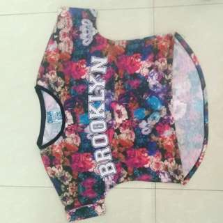 Floral Top Brooklyn W/shipping Fee