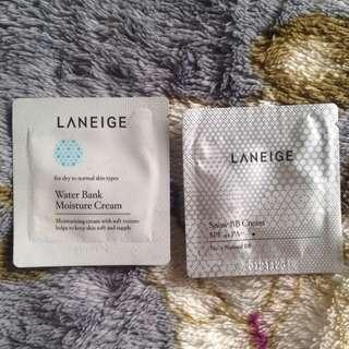 Laneige BB Cream & Moisturizer Cream Sample