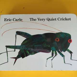 Board book for kids- Eric Carle