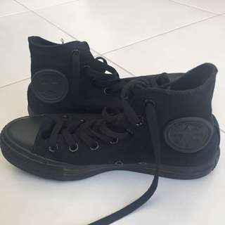 Black Converse Shoes /High Tops