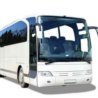 RENTAL OF 41-SEATER BUS SERVICE FOR ALL OCCASIONS (Local Destination Only)  ♢ Inclusive Of Driver & Fuel Fees  ♢ 41 Passengers
