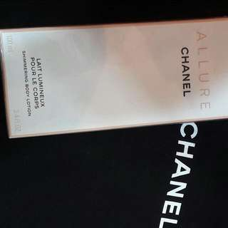 Chanel Allure Shimmering Body Lotion