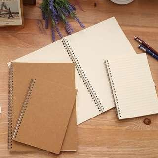 Plain Tumblr Notebooks