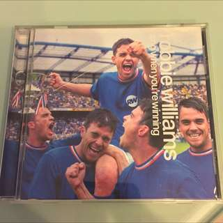 Robbie Williams -Sing When You're Winning CD DISC