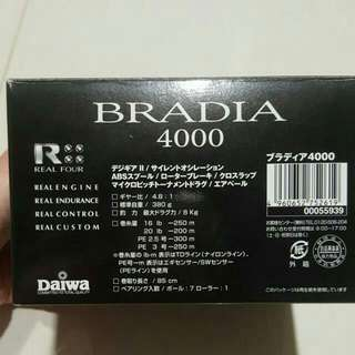 Daiwa Bradia 4000 Reel And Major Craft Alexander PE 2-4 Spinning Rod Fishing