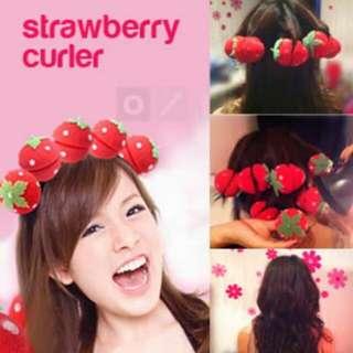 ETUDE HOUSE Cute Strawberry Sponge Rollers
