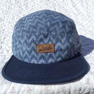 幾何圖形藍色五角帽