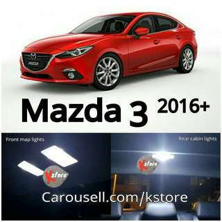 Mazda 3 - 2016+ LED Interior Light Replacement