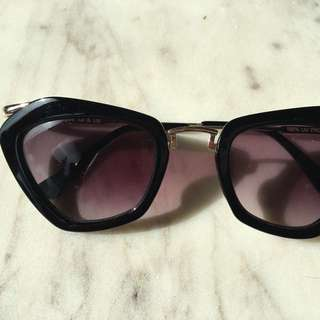 Nasty Gal Sunglasses (Celine look alike)