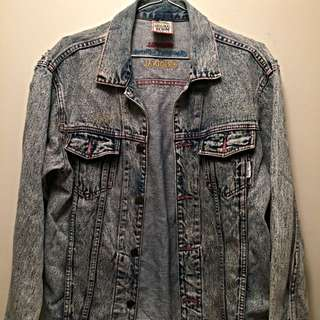 Basic Blues Vintage Denim Jacket