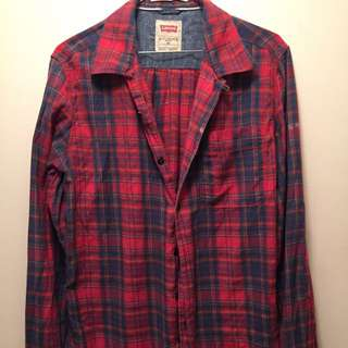 Levis Plaid Shirt