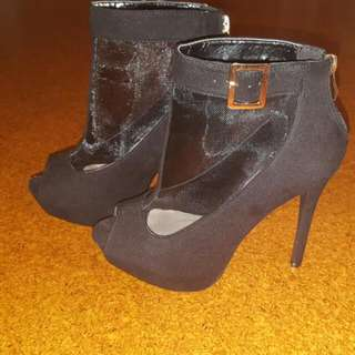 Migato Black Shoes Size 37