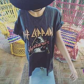 Def Leppard Band Shirt