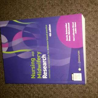Nursing and Midwifery Research book 4th Edition